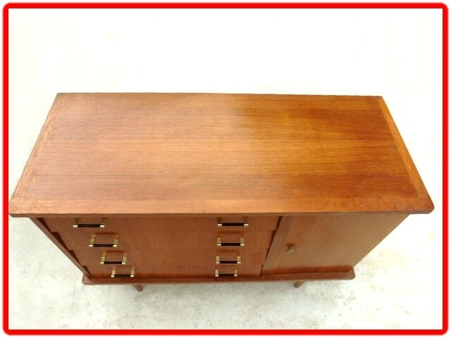 BUFFET COMMODE VINTAGE ANNEES 1950