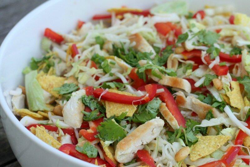 salade a la chinoise de Nigella