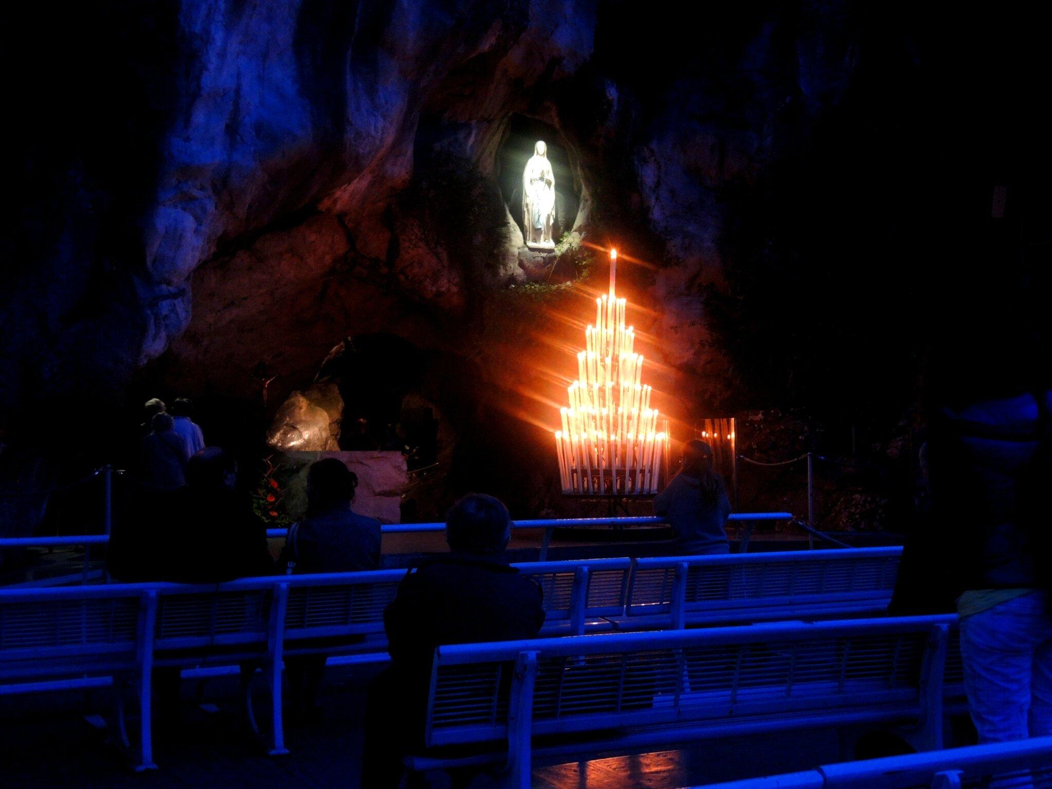 Lourdes, la grotte, octobre 2013 (65)