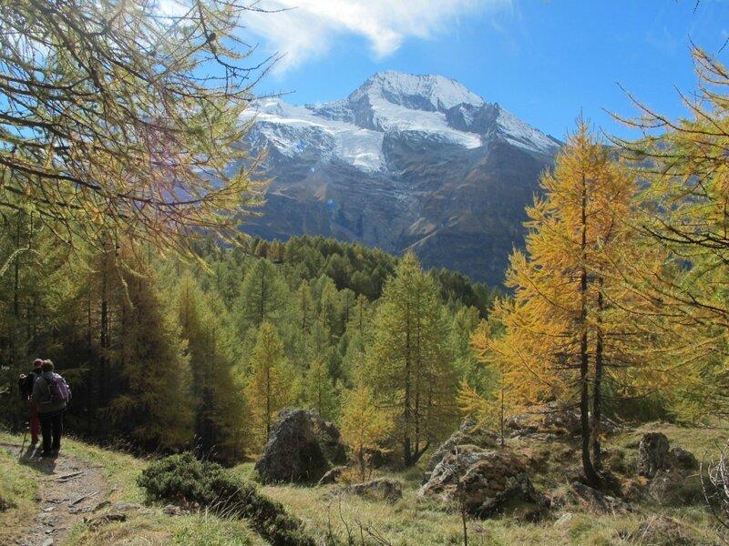 3- Octobre 2015 - Sentier Le Monal - Le Clou