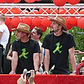 Csd berlin pride parade - to know is to accept / l'acceptation par la connaissance / wissen schafft akzeptanz
