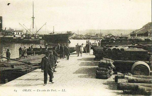 Oran- 047- travail sur les quais