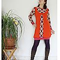 robe orange arbre 8