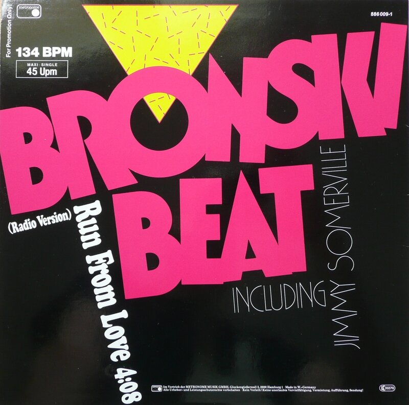 Run From Love 12'' G promo B