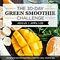 {challenge} 30- day green smoothie
