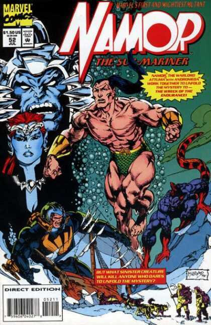 namor the sub-marine 1990 52
