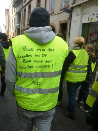 manif gilets jaunes montauban vie de la brochure. Black Bedroom Furniture Sets. Home Design Ideas