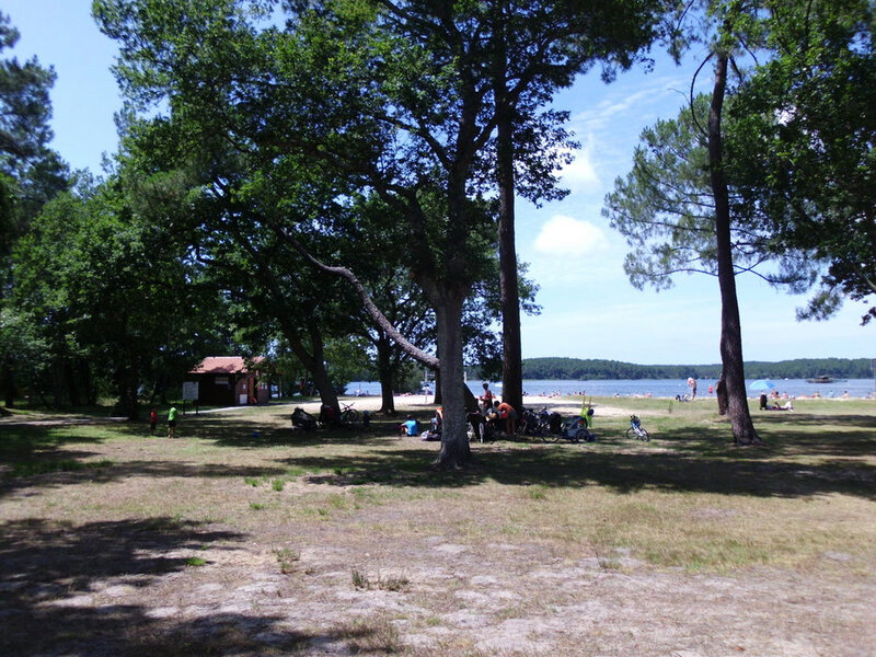 Photo-plage-Maguide-lac-Biscarosse