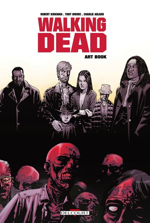 walking dead artbook