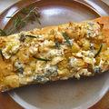 Pizza oignons-poisson-fromage