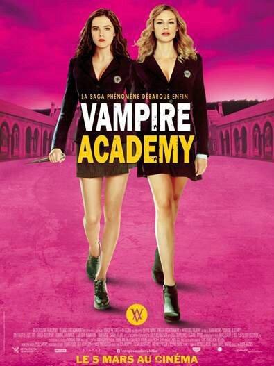 La parenthèse dorée+Vampire-Academy-Richelle-Mead-affiche-officielle