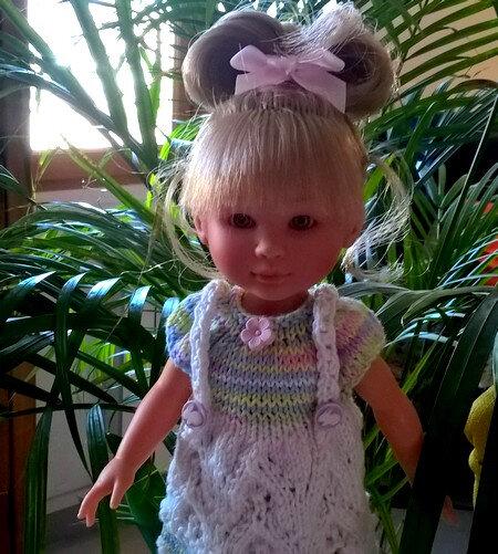 Lyouba et sa robe à bretelles CréaLouise 01