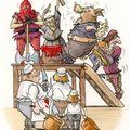 On jugeait les cochons et sévèrement.