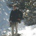 Montee dans la neige