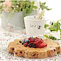 Pudding aux fruits rouges...omnicuiseur ou four traditionnel...promo spéciale