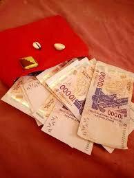 Porte-feuille magique qui multiplie de l'argent
