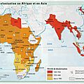 La guerre d'algérie et la décolonisation.