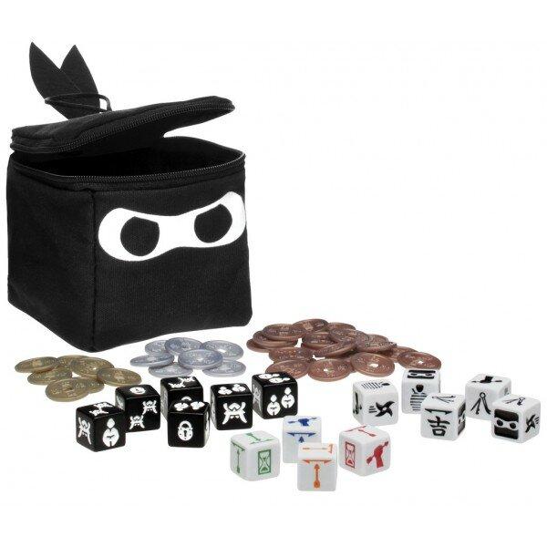 Boutique jeux de société - Pontivy - morbihan - ludis factory - Ninja Dice