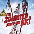 zombies font du ski