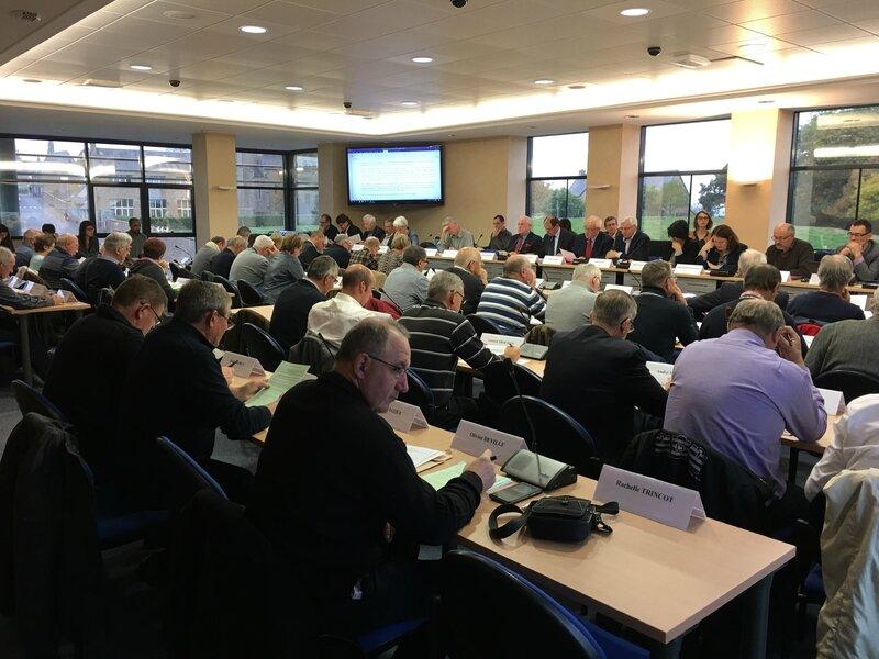 conseil communautaire CCAMSM Avranches Mont-Saint-Michel 29 octobre 2016