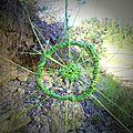 bord du chemin balisé yurtao