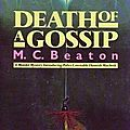 Death of a gossip (m. c. beaton)