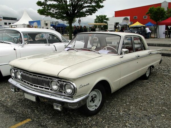 mercury comet 4door sedan 1962 a