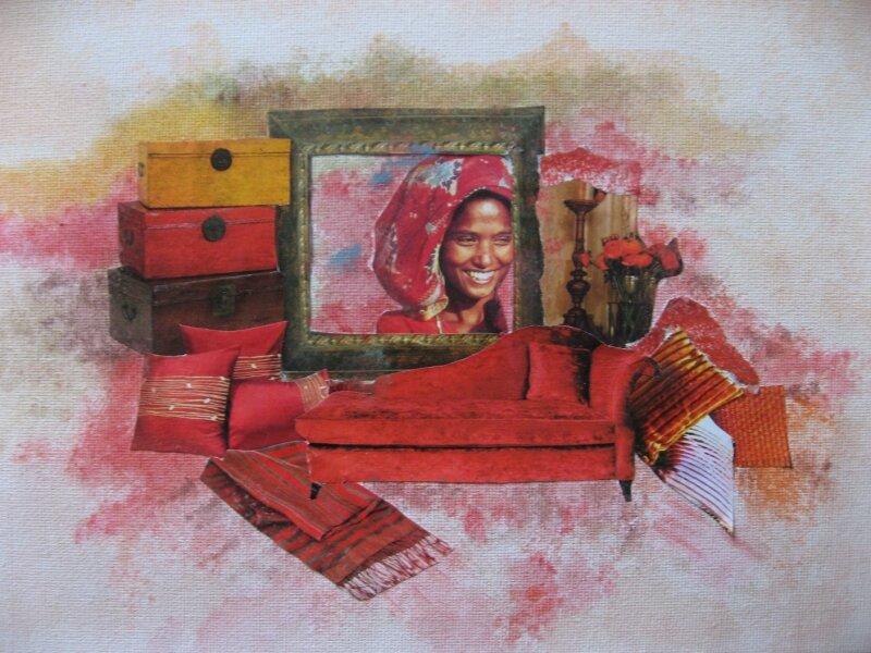 Rouge de plaisir(18X24)