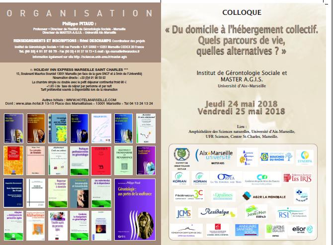Colloque IGS AGIS Marseille