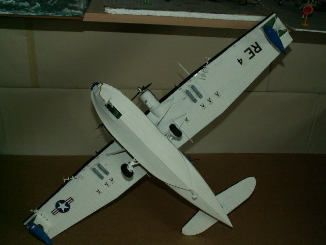 maquette du PBY- CATALINA (version 1948) (12)
