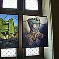 Sarkis vitraux chateau 1