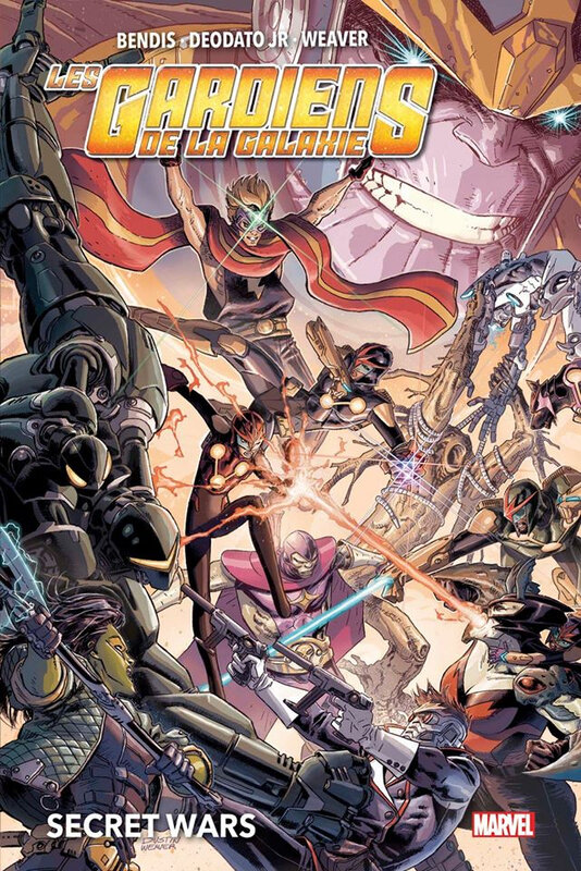 marvel deluxe secret wars gardiens de la galaxie