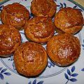 Petits cakes thon & amande