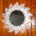 Soleil en mosaïque réalisé par Loeticia