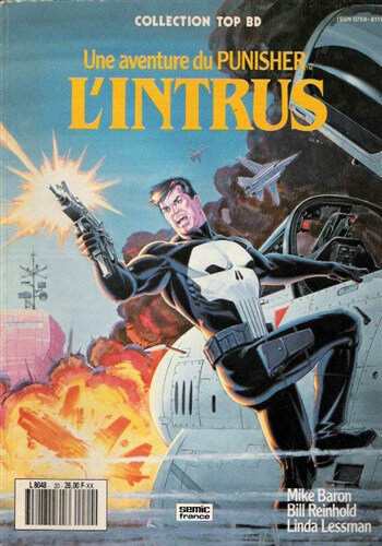 semic top BD punisher l'intrus