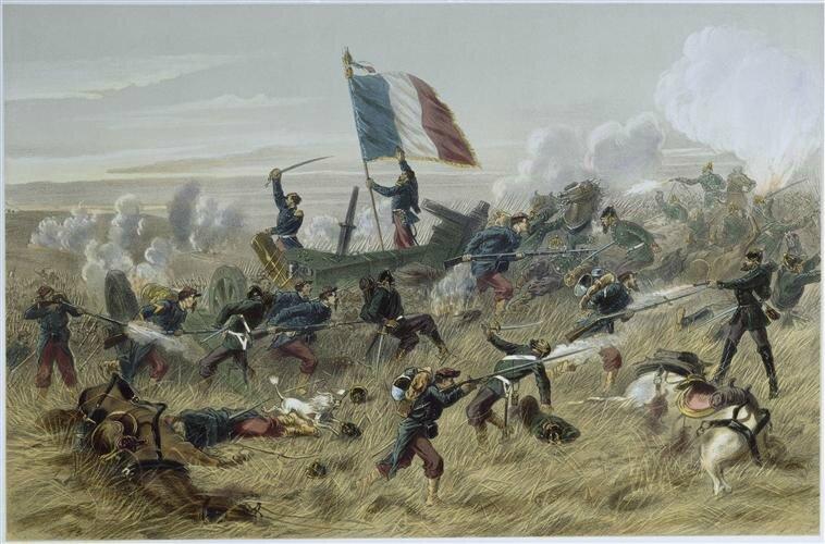 Jules-Descartes Ferat, bataille de Gravelotte