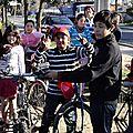 En bicicleta con la tía Barbara