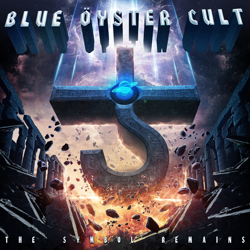 BLUE OYSTER CULT the symbol remains COVER HI