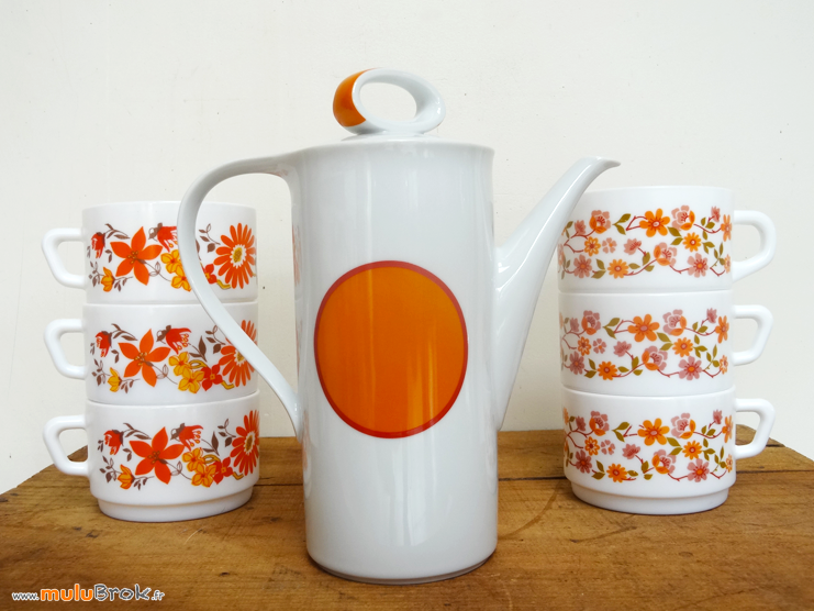 CAFETIERE-BAVARIA-Orange-2-muluBrok-Vintage
