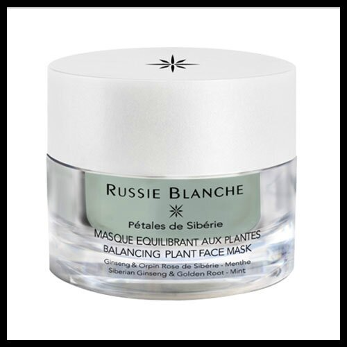 russie blanche masque equilibrant aux plantes