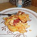 Gratin de pommes de terre au chorizo