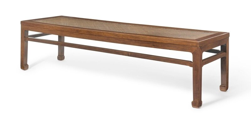 A Huanghuali Waistless Daybed (Ta), 17th-18th century