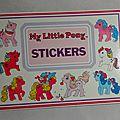 carnet de stickers