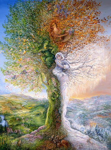 17 broderies Irène arbre 4 saisons