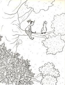 fille dans arbre copie