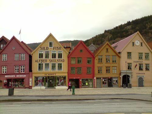 Bryggen Houses