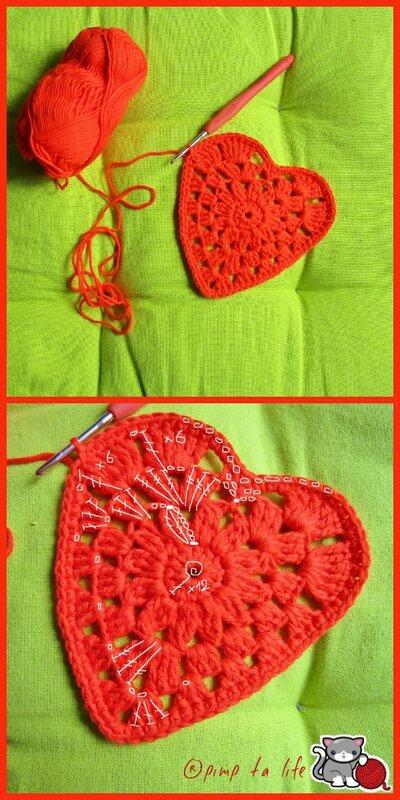 ®pimp ta life tuto granny heart