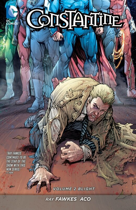 constantine vol 2 blight TP