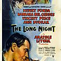 The long night. anatole litvak