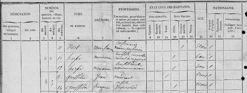 Recensement Quimerc'h 1851 image 34
